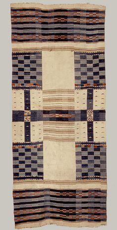 Textile Blanket, Chieftan [Fulani people; Mali or Ghana] (1971.30) | Heilbrunn Timeline of Art History | The Metropolitan Museum of Art