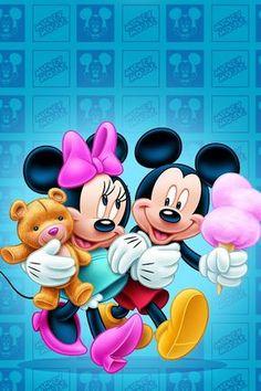 Mickey and minnie                                                       …