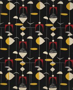 Untitled (Mobiles). (detail) ca. 1952. Marian Mahler. Manufactured by David…
