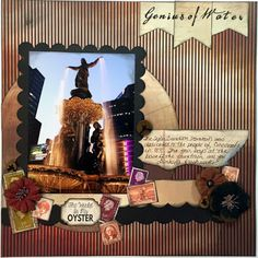 Genius of Water with Alicia!  Hello Quick Quotes crafty friends! Alicia with you today sharing a layout featuring the gem of the City of Cincinnati, Ohio.