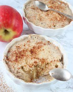 Nyttig äppelkladdkaka i mikron – Lindas Bakskola