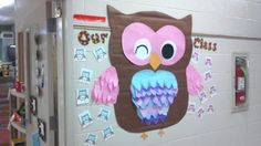 Owl from Maggie's Classroom hall display