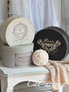 Beautiful old hat box filled with florals, hat box can have old travel stickers. The guests can take the whole piece home.