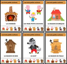 Petite Section, Grande Section, French Teaching Resources, Teaching French, Montessori Classroom, Classroom Activities, Pop Up Karten, Tot School, Little Pigs