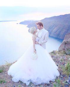 Sunrise | Xiaxue & Mike – with Sunrise Greece in Santorini