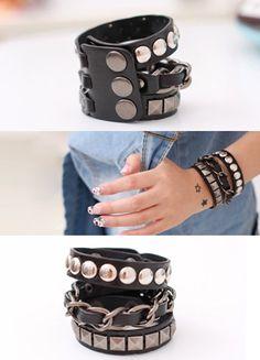 Studded Strap Bracelet