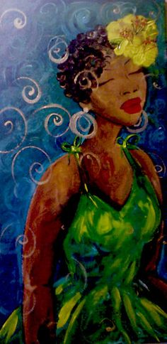 """""""Mahalia"""" by Felicia Hunt"""