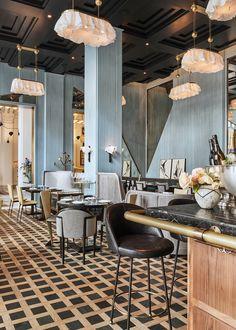 Kelly Wearstler Interiors Villon Villon Restaurant Inside Proper Hotel San Francisco Cafe Restaurant