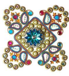 Hey, I found this really awesome Etsy listing at https://www.etsy.com/listing/204242284/diwali-rangoli-rangoli-kundan-rangoli