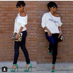Casual w/heels
