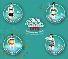 Bikini Sommer Special - Formschön in die Fluten. Der perfekte Bikini für jede Figur