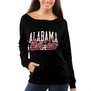Alabama Crimson Tide Women's Vintage Fleece Sweatshirt – Black