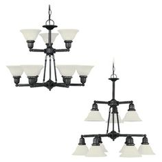 Sea Gull Lighting�9-Light Sussex Heirloom Bronze Chandelier
