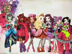 Ever After High and Monster High