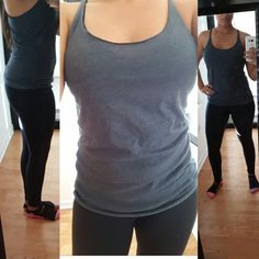 I seriously love this #Clementine Racerback tops! These are officially now one of my favorite workout tops and tops on my causal days! I'm usually a Medium but got a small and it fits perfectly as they do run a tad bit large! These are definelty my go to tops! Heres the link to get your awesome top! https://www.amazon.com/gp/product/B00NQEL5E2/ref=oh_aui_detailpage_o03_s00?ie=UTF8&psc=1