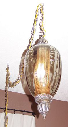 Antique Rootbeer hanging light