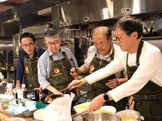 From left: Akio Ohki, Kotaro Kashiwabara, Mackey Makimoto, Yaz Aiuchi.