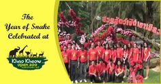 We welcome you all in the year of Snake. In Khao Kheow open zoo, this time around we celebrated the Chinese New Year with much zeal and eco-consciousness....