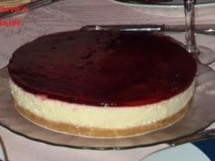 Receita Sobremesa : Cheesecake de morango de Narwen