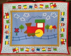 quilted wallhanging for baby boy room - Google Search