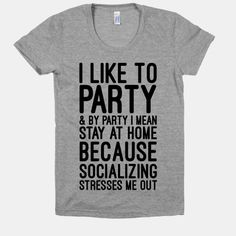 I'm trying to work but Pinterest keeps distracting me with awesome introvert shirts!