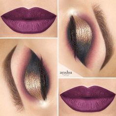 Popular Glitter Makeup Ideas to Rock the Party picture 3 Christmas makeup looks exceptional whether it is subtle or very bright. Check out our 48 holiday makeup ideas and choose the one that works best for you. Beautiful Eye Makeup, Cute Makeup, Makeup Geek, Makeup Inspo, Makeup Inspiration, Makeup Tips, Makeup Ideas, Makeup Products, Nail Ideas