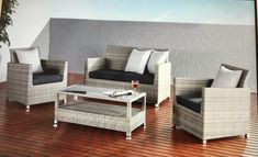 Outdoor Sofa, Outdoor Furniture Sets, Outdoor Decor, Table, Home Decor, Ocean, Decoration Home, Room Decor, Tables