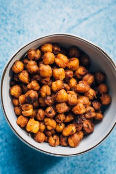 Vegan Bacon Chickpeas | Well and Full | #healthy #easy #recipe