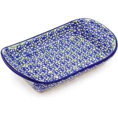 "Polmedia Polish Pottery 10"" Rectangle Platter"
