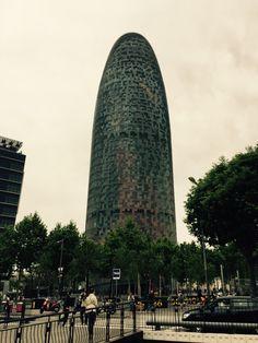 Torre agbar , nouvel Barcelona