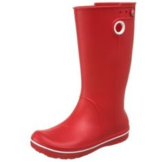 Red Croc Wellies <3