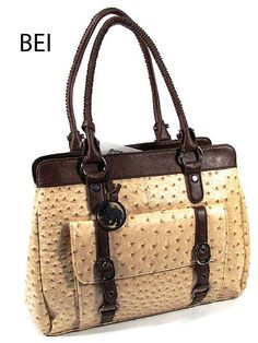 be8d736c68  59.90 Simulated OSTRICH PATTERN SKIN HANDBAGS Designer INSPIRED HANDBAG 13  3 4 X 11 3
