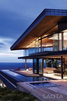 Cove Villa in Western cape by SAOTA