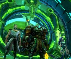 "Video game developer Carbine Studios has announced that the mysterious MMO project it has been teasing for a few weeks is called Wildstar and will try to mix science fiction and fantasy while also offering a new, so called ""layered"", approach to quests."