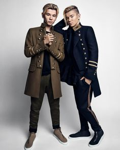 New M&M poster. Buy Marcus and Martinus posters here. MMstore official brand store for Marcus & Martinus. Mike Singer, Love Twins, Boy Fashion, Mens Fashion, Gym Workout For Beginners, Twin Girls, Brand Store, Pretty Wallpapers, My Boyfriend