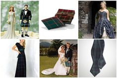 I really want the scottish wedding dress on the top right pic