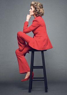 Jane Fonda by Nico B