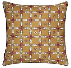 Navajo Cushion - Gold from etoile-home.com