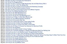 fiverr.com/andreavivian/give-you-120-exclusive-guide-how-...    Gig 1: I will teach you how we can earn 2000 dollar from our facebook accounts  Gig 2: I will give you Unlimited human traffic every day forever  Gig 3: I will teach you how to make such an  Are you serious about making easy cash on Fiverr Gigs? Then check this out