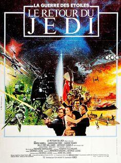 Star Wars épisode VI : le retour du Jedi infos et avis du film Film Star Wars, Star Wars Poster, Mark Hamill, Harrison Ford, Maisie Williams, Chewbacca, Sci Fi Movies, Hd Movies, Star Wars Episode Vi