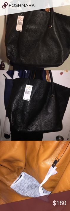 Michael kors tote bag All black michael kores tote bag never worn just dont want anymore Michael Kors Bags Totes
