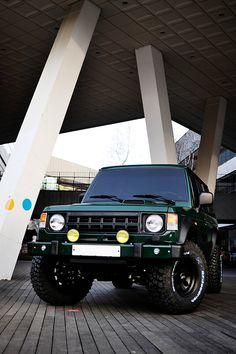 Mitsubishi Pajero -> Hyundai Galloper -> Mohenic Garages redesign - MohenicG Original Off-Look ver. BRITHISH RACING GREEN. www.the.co.kr