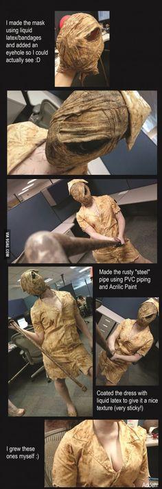 Sharing my Silent Hill Nurse Cosplay too