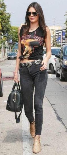 LoveStrength Phoenix Black Concho Leather Belt