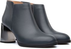 Our Lea women's boot features a tapered heel that gives it a subtle, smart edge.