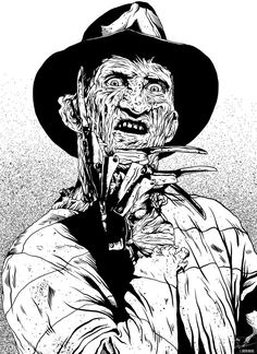 A tattoo i will be doing very soon i will post the fished work when i am done you can see my work with the freddy Kruger 2 Scary Movies, Horror Movies, Jason Drawing, Zombie Drawings, Drawing Cartoon Faces, Horror Artwork, Halloween Coloring Pages, Zombie Art, Horror Icons