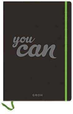 """Das Notizbuch """"Du kannst tun was immer du willst"""" ist ein kreatives Geschenk für kreative Personen. Verschenken Sie es egal zu welchem Anlass."""
