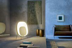 Stewie Room Set Animation of Light! Stewie Floor Lamp by Luca Nichetto for Foscarini Lighting Concepts, Lighting Design, Bright Floor Lamp, Floor Lamps, Design Bauhaus, Luminaire Original, Cool Lighting, Room Set, Interiores Design