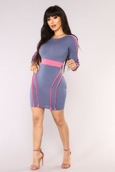 Sexy, trendy and cute mini dresses that'll suit your body perfectly and work for the beach, date night, the club or school. Find your next go-to mini dress at Fashion Nova. Girls Night Out Dresses, Sexy Dresses, Nice Dresses, Casual Dresses, Bandage Dresses, Church Dresses, Look Fashion, Fashion Models, Girl Fashion