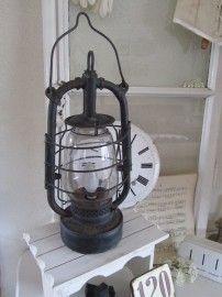 Grote oude stormlamp...Verkocht!!